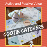 Passive and Active Voice Cootie Catchers