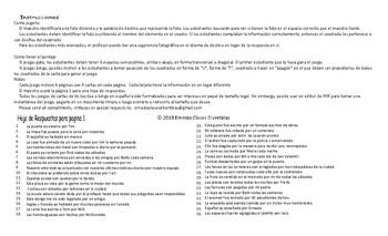 Passive versus Active Voice Spanish Legal Size Photo Tic-Tac-Toe-Bingo Game