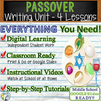 Passover Writing BUNDLE! - Argumentative, Persuasive, Expository, Narrative