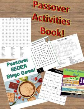 Passover Activities Book