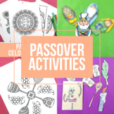 Passover Activities Bundle | Pesach Activity