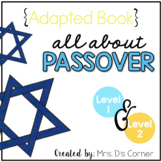 Passover Adapted Books { Level 1 and Level 2 }