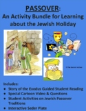 Passover: Activity Bundle for the Jewish Holiday: Distance Learning or PDF/Print