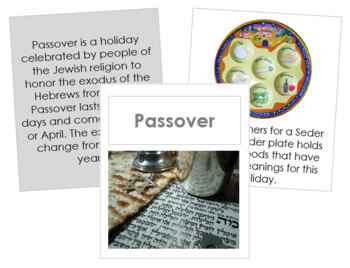 Passover Cards and Booklet