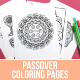 Passover Coloring Pages | Pesach Coloring Pages