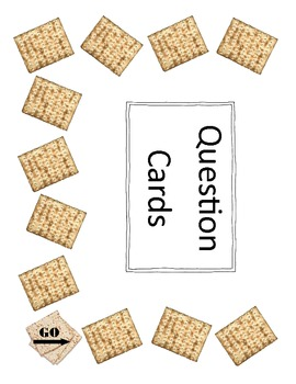 Passover Four Questions Folder Board Game