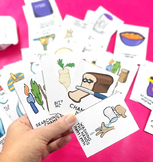 Passover Game for Kids - Printable PDF Old Maid and Memory