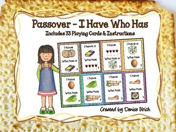 Passover - I Have Who Has