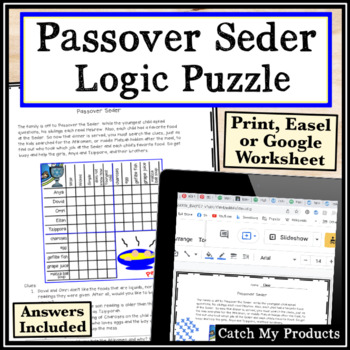 Passover Logic Puzzle