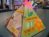 Passover Matzah Holder Triangles from bje/Marshall Jewish Learning Ctr