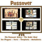 Passover Resource Pack - Ten Plagues, Passover Story, Seder Meal Worksheets