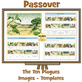 Passover - 'The Ten Plagues' Work Sheets