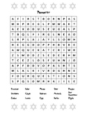 Passover Word Search
