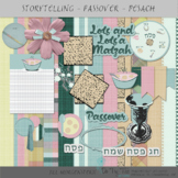 Passover or Pesach Papers and Clip Art Digital Scrapbookin
