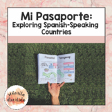 Passport Activity for Spanish-Speaking Countries