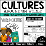 World Cultures Research Project  ~  Passport Around the World