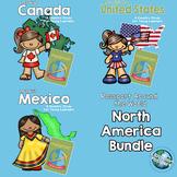 Passport Around the World - North America Bundle