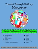 Passport Booklet -Ancient World History