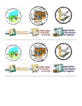 Passport Career Cluster Stamps