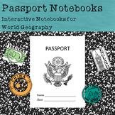 Passport Notebook Template Set (Interactive Notebooks for