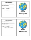Passport (Reisepass) Template for German Classes