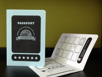 Passport Reward System Incentives Booklet Printable Keepsake By Mr Jimmy