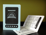 Passport Reward System. Incentives Booklet. Printable Keepsake