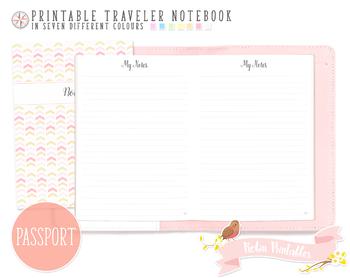 Passport Ruled Notes Traveler Notebook Refill