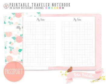 Passport Squared Notes Traveler Notebook Refill