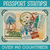 Passport Stamp Bundle - OVER 75 COUNTRIES!
