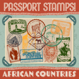 Passport Stamp Bundle - African Countries