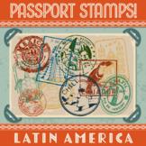 Passport Stamp Bundle - Latin American Countries