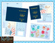 Passport Stamps Clip Art 2 and Passport Printable