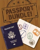 Passport Template & Bundle - Now Over 140 Countries