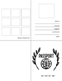 Passport Template! Perfect for Cultural Activities!