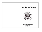 Passport Template in Spanish