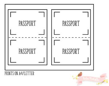 Passport Weekly Meal Plan Traveler Notebook Refill