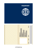 Passport and Travel Stamps