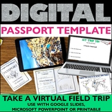 Virtual Field Trip Passport Template