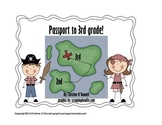 Passport to 3rd grade: 2nd grade end of year scavenger hunt!