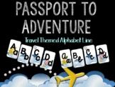 Passport to Adventure Travel Themed Alphabet Line