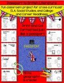 PASSPORT TO BRITISH LITERATURE: GRADES 7-12 (PRINT AND GO)