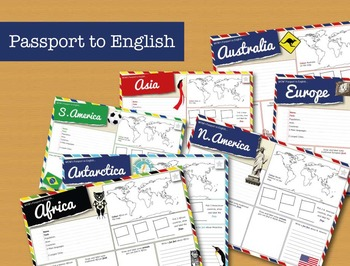 Passport to English - Learn about the Continents