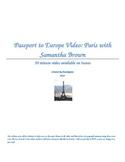 Passport to Europe- Paris Video Two Column Notes