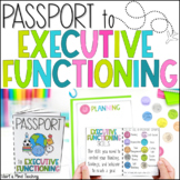 Passport to Executive Functioning skills for Google Classroom Distance Learning