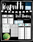 Passport to Fact Fluency- Addition & Subtraction