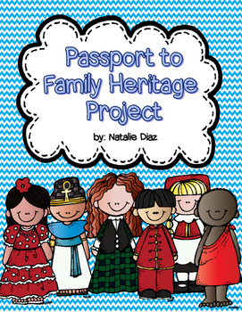Passport to Family Heritage Project- Canadian Version