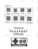 Passport to Makey Makey (STEAM, Makerspace, STEM)