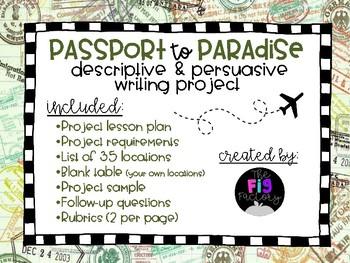 Passport to Paradise Writing Project