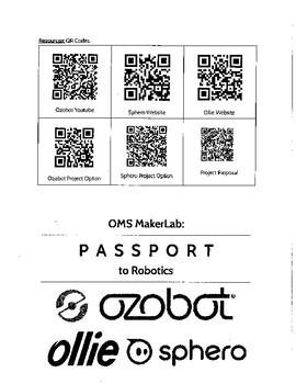 Passport to Robotics (STEAM, Makerspace, STEM)